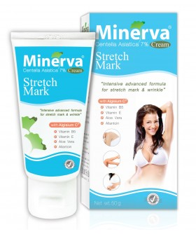 MINERVA STRETCH MARK CREAM - KEM THOA RẠN DA (50g)